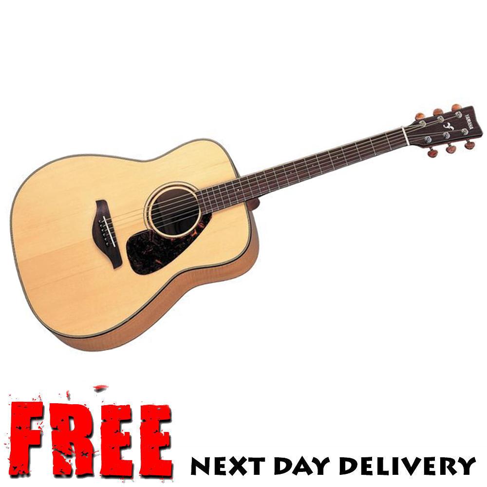 Ex display yamaha fg750s acoustic guitar natural ebay for Yamaha acoustic guitar ebay